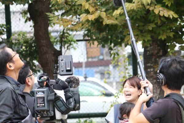 NHK撮影