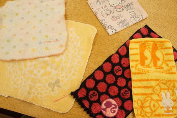 子ども用ハンカチ 子ども用ハンドタオル おしゃれ 使いやすい
