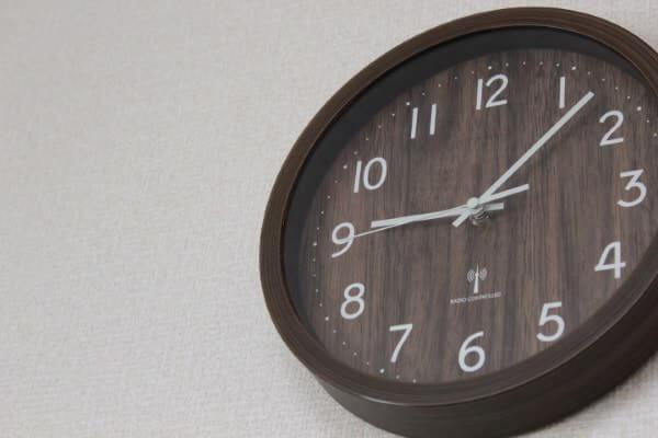 寝かしつけ時計