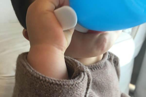赤ちゃんとミラクルカップ