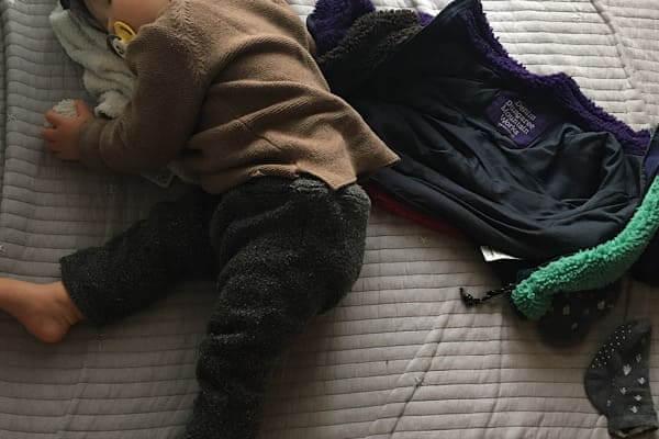 赤ちゃん寝落ち