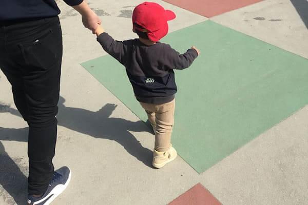 赤ちゃん散歩