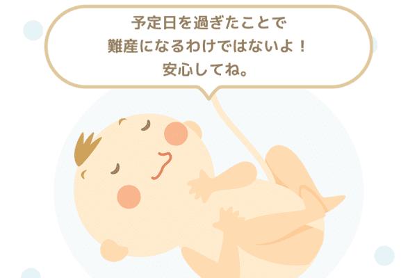 予定日すぎた赤ちゃん