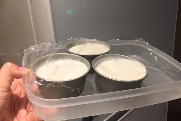 牛乳消費応援牛乳プリンレシピ