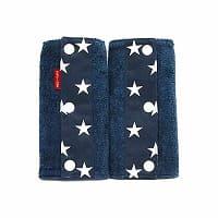 抱っこ紐のよだれカバーFUWA ブルー×星柄ネイビー 51-0671-11