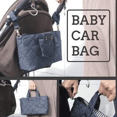 【3WAYベビーカーバッグ】取り外してそのままBAGにできる ポケットたくさん収納 マザーズバッグ 巾着 ベビーカーオーガナイザー