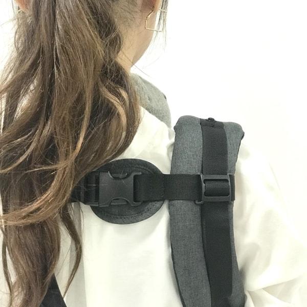 ミアミリーふわふわの肩紐