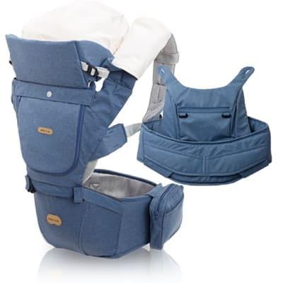 ネイビー【ベビーアンドミー 正規販売店】ベルク・BELK 新生児から使えるファーストオプションセット