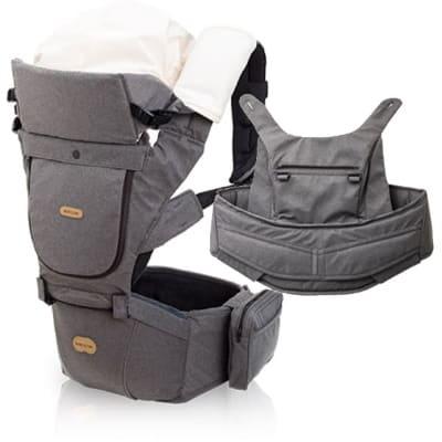 スティールグレー【ベビーアンドミー 正規販売店】ベルク・BELK 新生児から使えるファーストオプションセット