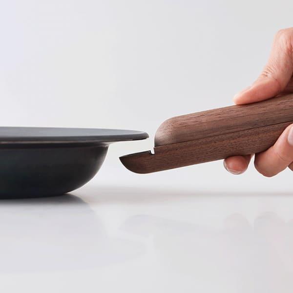 【フライパンジュウ】鉄フライパンセット 取っ手が取れる、収納できる、IH対応オーブン可の藤田金属(八尾)日本製!おしゃれなフライパンFRYING PAN JIU